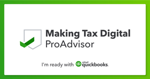 Making Tax Digital - ProAdvisor